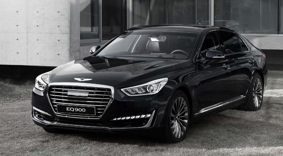 """""""Лимузинная"""" версия Genesis G90 почти догнала по длине Mercedes-Maybach"""