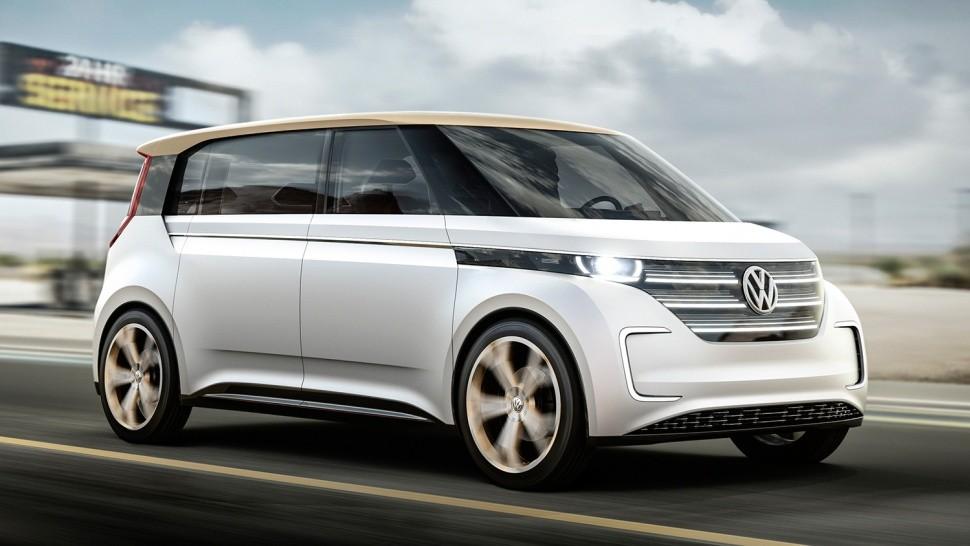 Немцы представили футуркар Volkswagen Budd-e