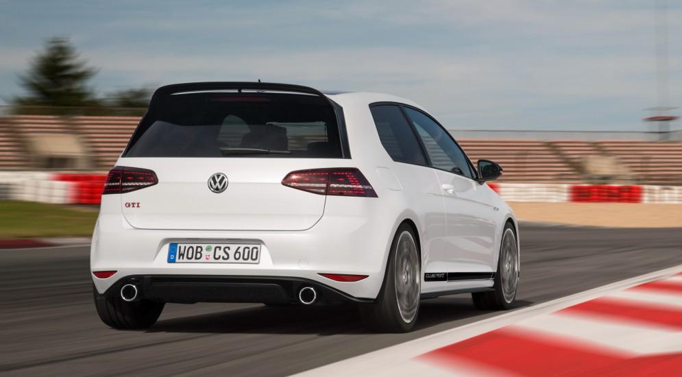 Немцы начали продавать VW Golf GTI Clubsport