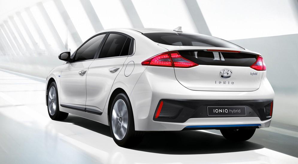 Корейцы впервые опубликовали снимки Hyundai Ioniq