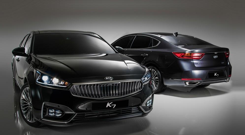 Корейцы опубликовали фото новой Киа Кадензы на официальном сайте автопроизводителя