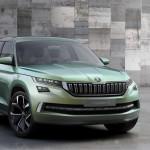 Чехи рассказали подробнее о своем новом паркетнике Skoda Vision S