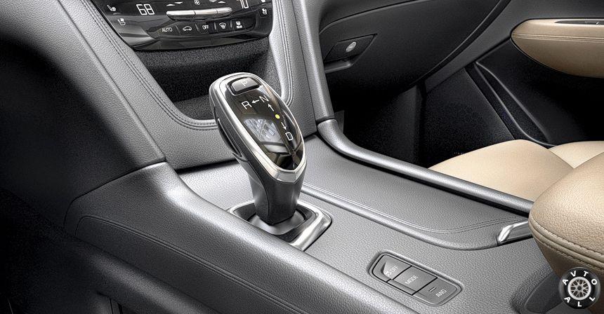 Cadillac XT5 коробка передач