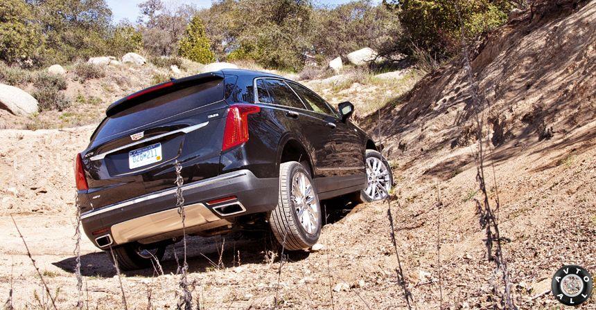 Cadillac XT5 на бездорожье