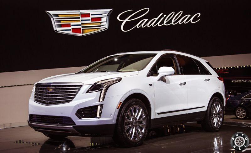 Cadillac XT5 премьера