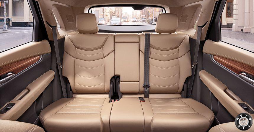 Cadillac XT5 салон