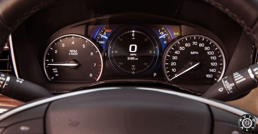 Cadillac панель приборов