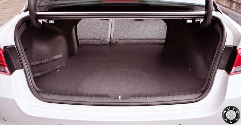 Optima 2016 багажник