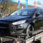 """""""Мула"""" Ford Focus четвертого поколения засветили фотошпионы"""