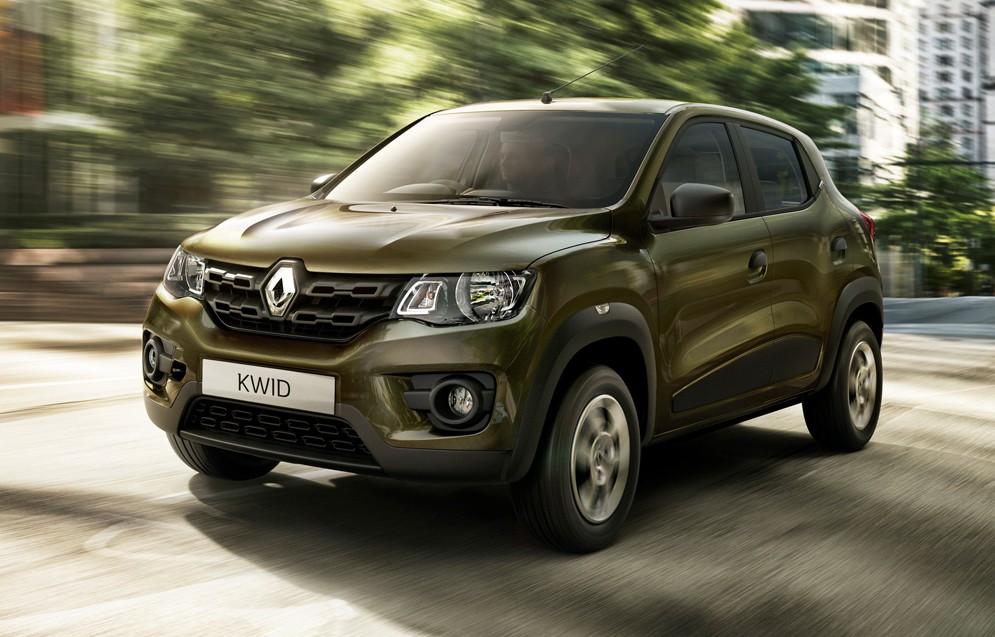 Французы начинают штамповать Renault Kwid в круглосуточном режиме