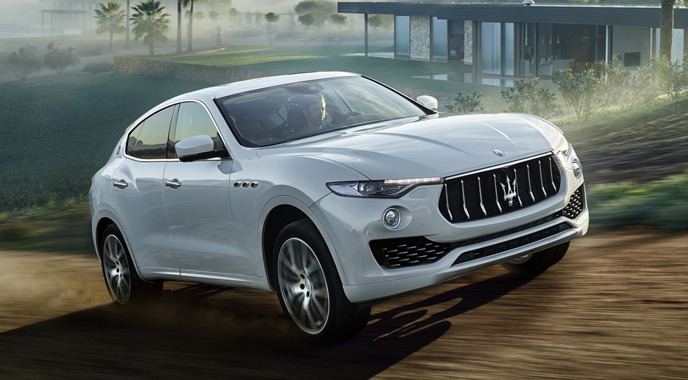 Новый вседорожник Maserati Levante