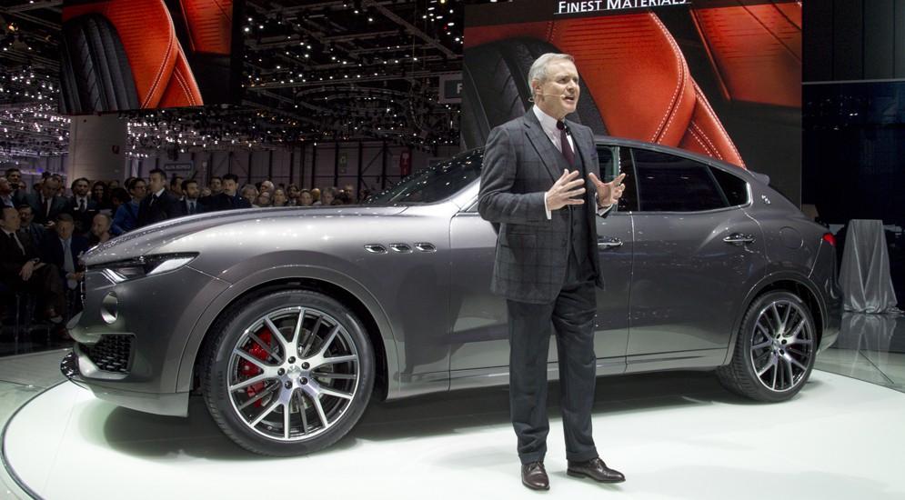 Maserati перешла на люксовые кроссоверы