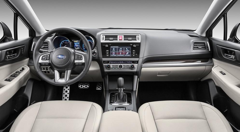 Японцы в апреле привезут в Россию новый универсал Subaru Outback 2016