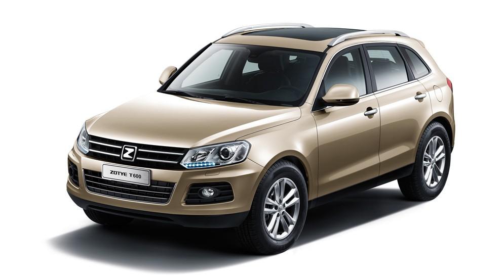 Новые китайские Zotye T600 и Zotye Z300 уже продают в России