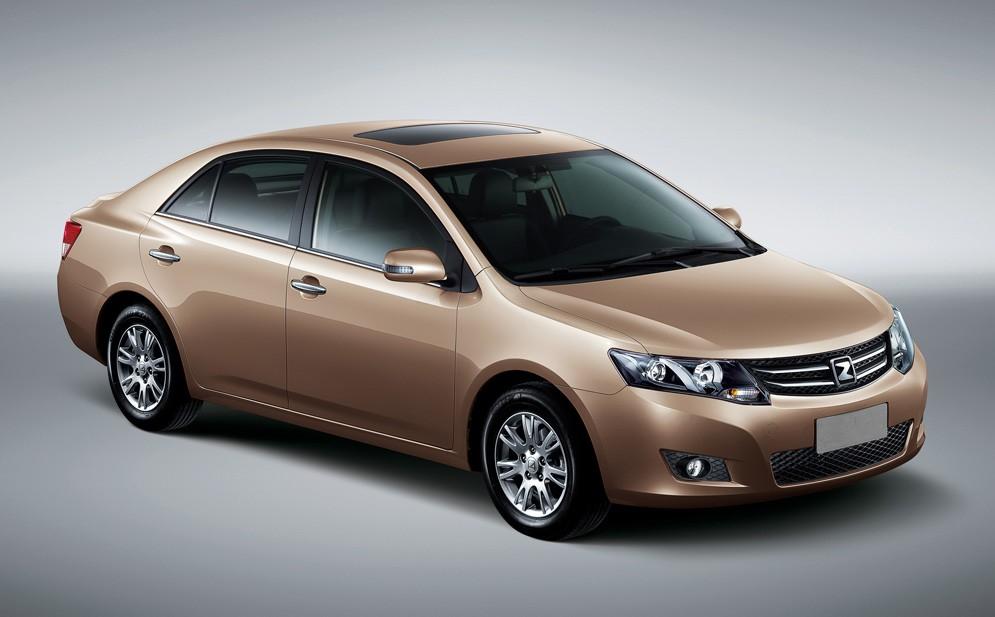 Китайцы озвучили цены на свой новый седан для российского рынка - Zotye Z300