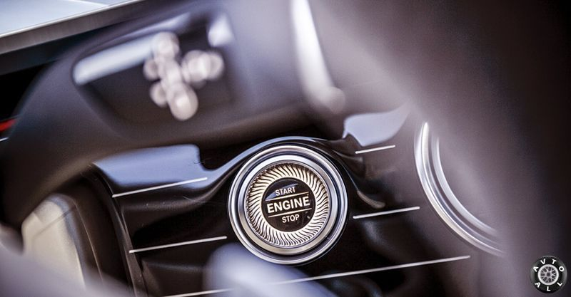 Engine button W213