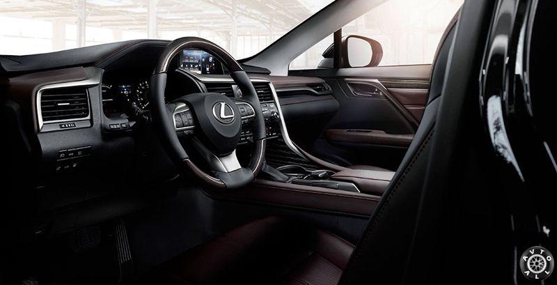 Lexus RX 2016 салон