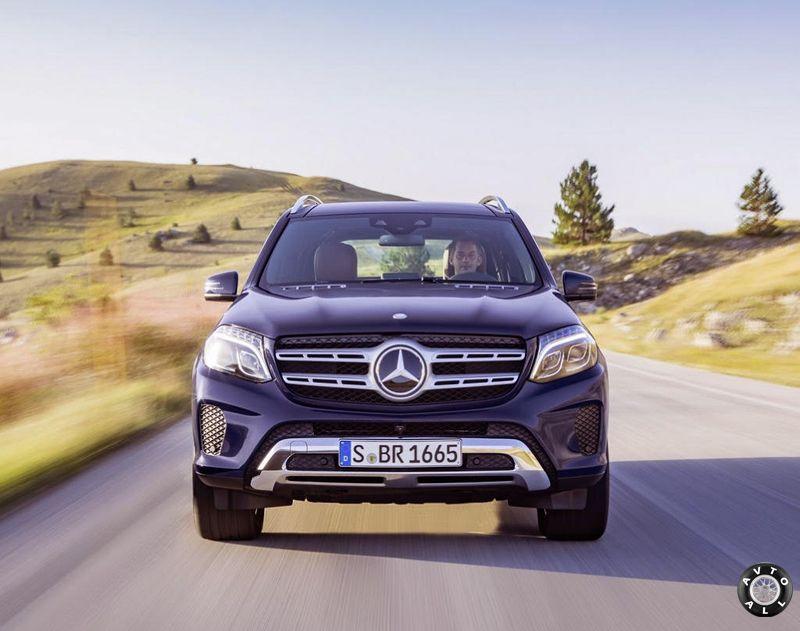 Mercedes GLS 2016-2017