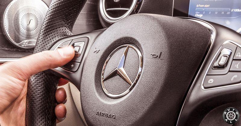 Руль Mercedes W213