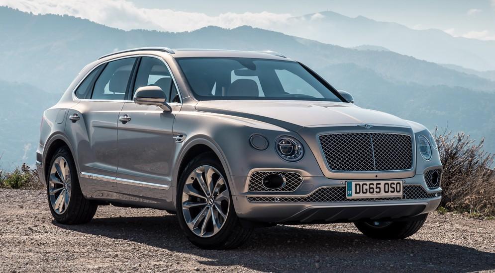 До конца апреля к российским дилерам привезут Bentley Bentayga