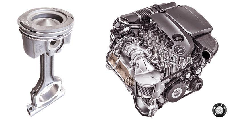 двигатель w213