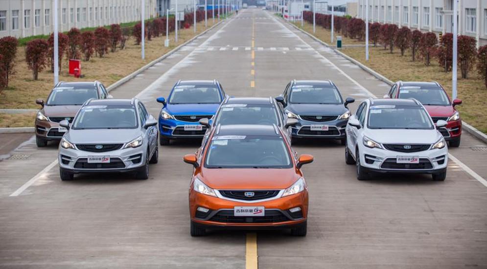 На Пекинском авто-шоу китайцы показали новый паркетник Geely, который приедет в Россию