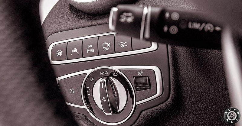 кнопки C 300 coupe