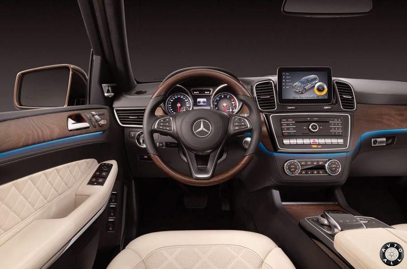 Mercedes GLS салон