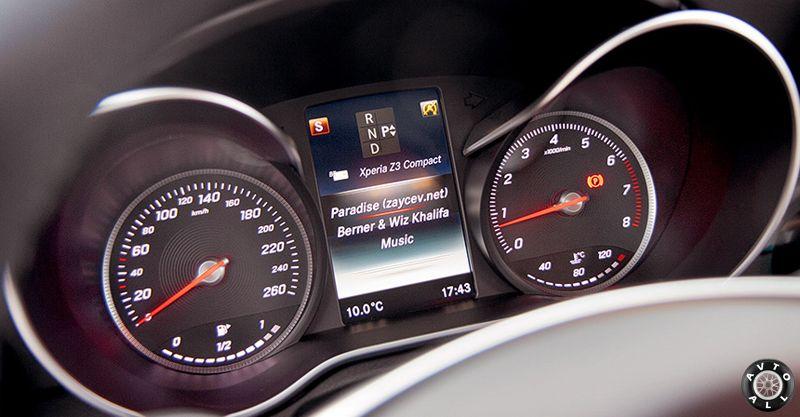 панель приборов C 300 coupe