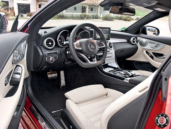салон C300 coupe