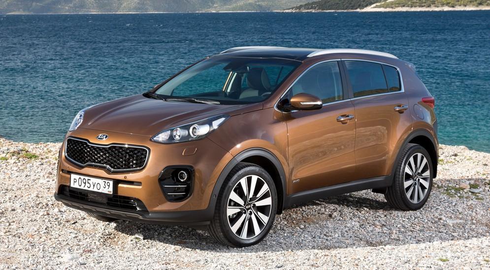 Корейцы начали российские продажи новопоколенного Kia Sportage