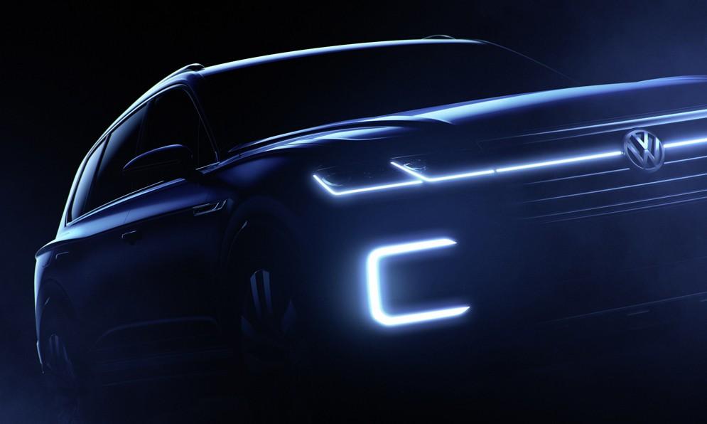Немцы анонсировали концепт нового кроссовера Volkswagen