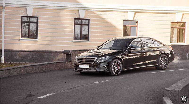 Mercedes S63 W222 AMG