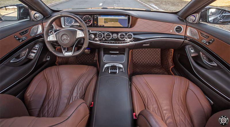 Mercedes S63 W222 салон