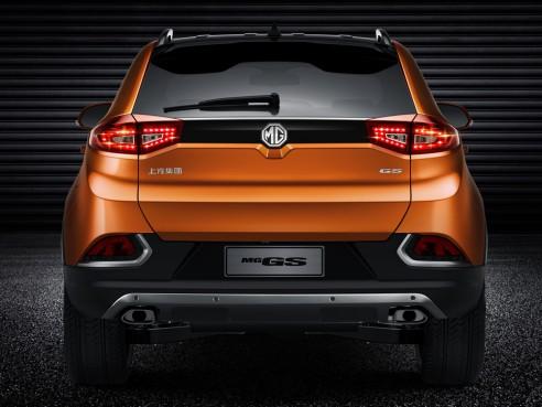 В Европу едет первый паркетник MG GS