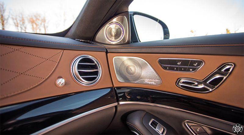 салон Mercedes S63 AMG