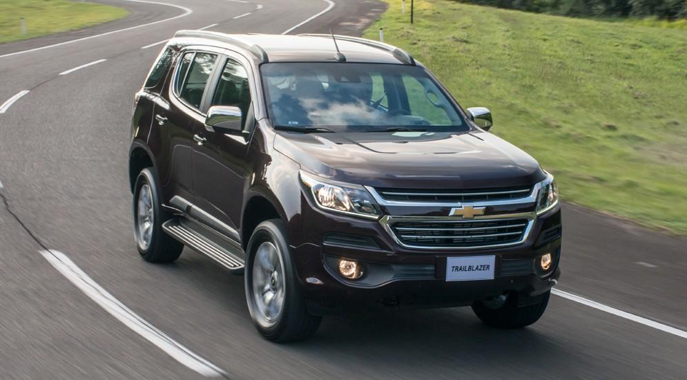 Американцы обновили семиместный Chevrolet Trailblazer