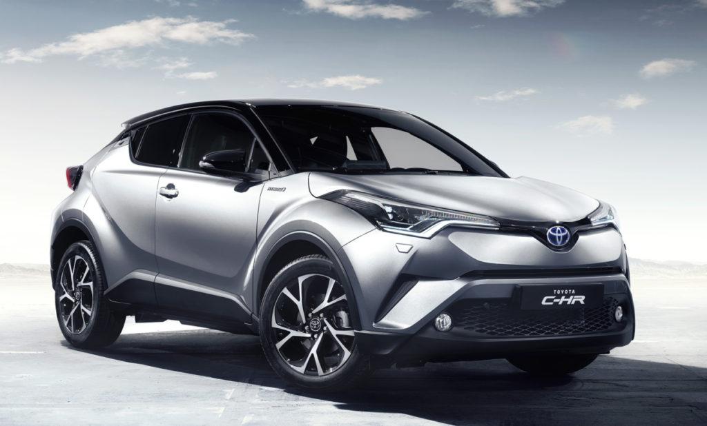 Японцы до конца года запустят в серию новый кроссовер Toyota C-HR
