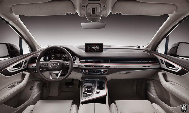 Audi Q7 2016 салон