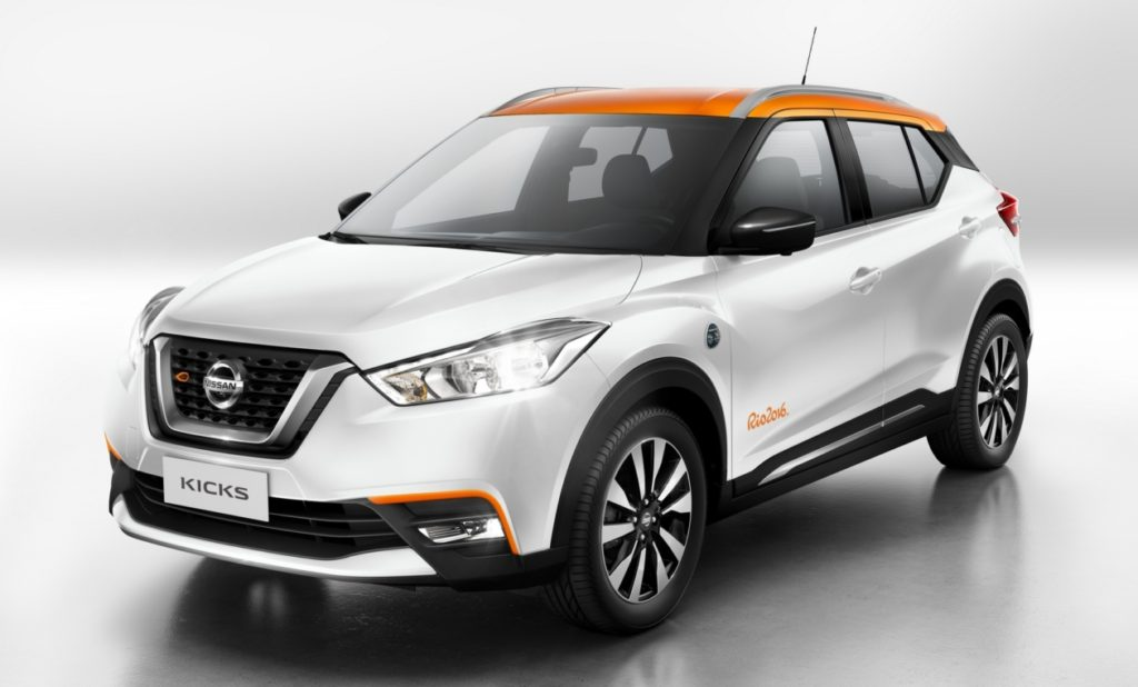 Японцы выпустили ограниченную спецверсию Nissan Kicks