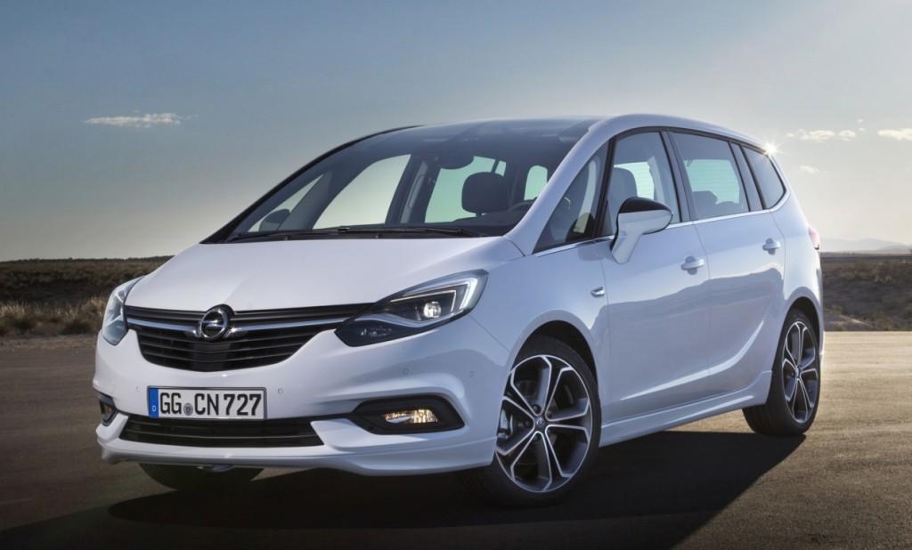 После рестайлинга Opel Zafira потеряла индивидуальность дизайна