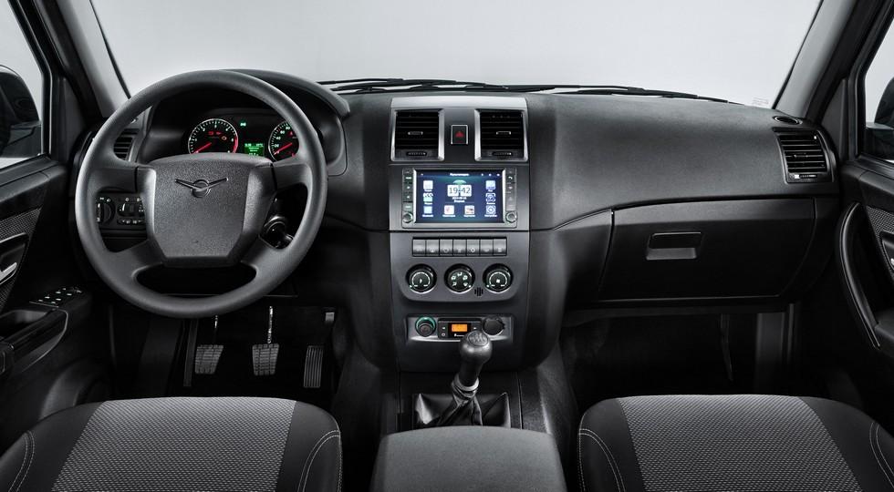 Опубликованы фото модернизированного УАЗа Патриота