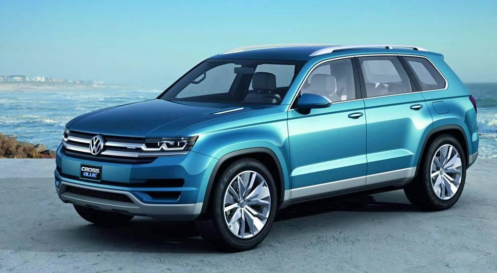 Volkswagen скоро порадует автомобильный мир новым большим внедорожником