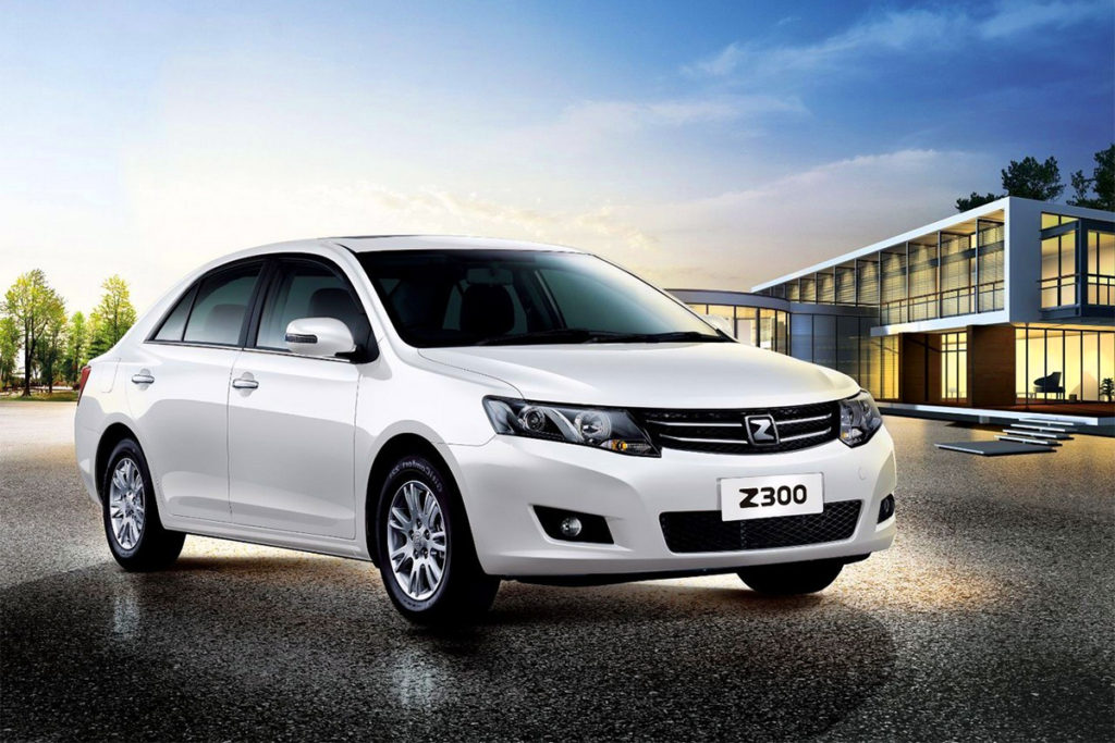 Китаец Zotye Z300 станет доступнее на сотню тысяч рублей
