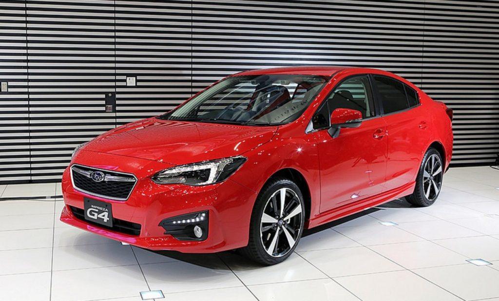 Японцы представили новую генерацию Subaru Impreza