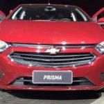 Chevrolet представил обновленные Onix и Prisma