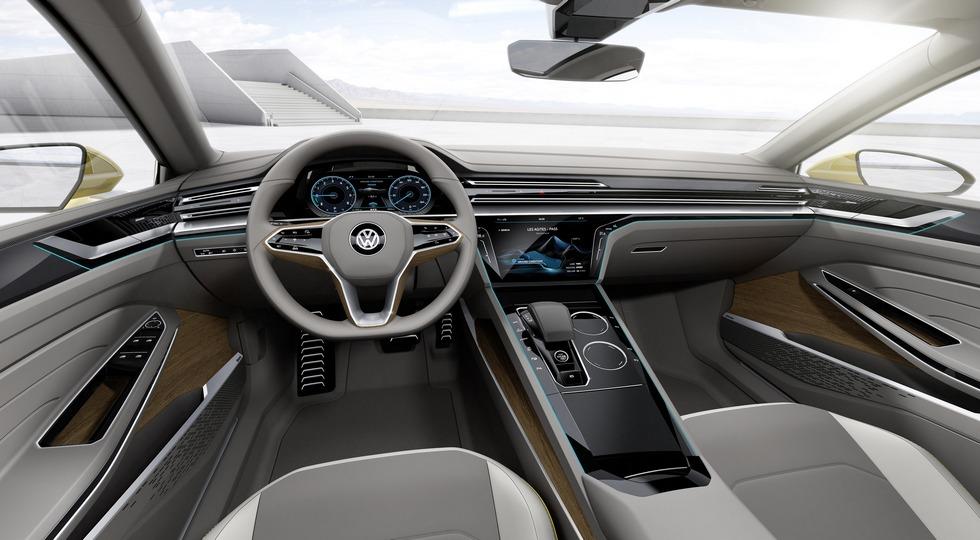 Немцы собираются начать серийный выпуск Volkswagen СС