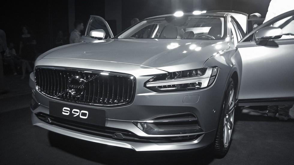 Шведы представили новый Volvo S90 в Москве