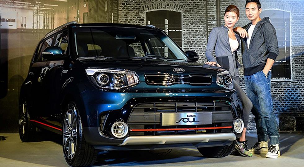 """Корейцы обновили """"паркетный внедорожник"""" Kia Soul"""