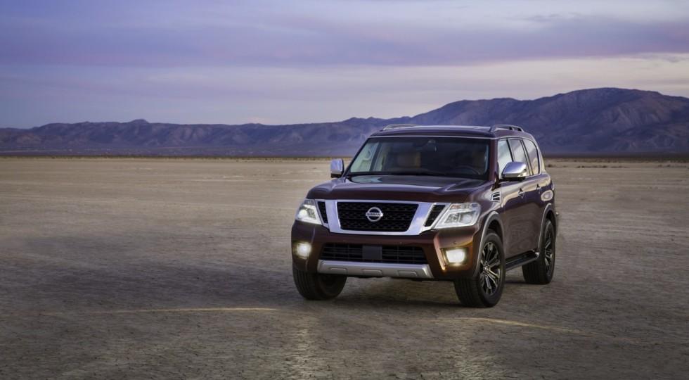 Японцы объявили цены на американскую версию новопоколенного Nissan Armada